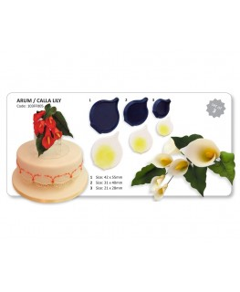 JEM Arum/Calla Lily Cutter Set 3pc