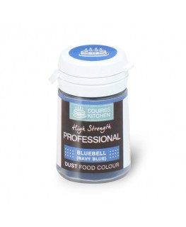 Squires Kitchen Professional Food Colour Dust Bluebell Navy Blue 4g