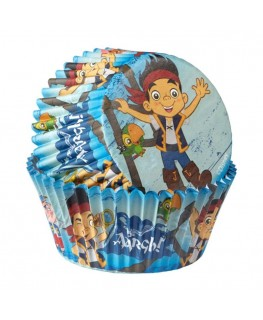 Wilton Jake And The Neverland Pirates Cupcake Cases 50pk