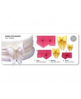 JEM Bows for Drapes Cutter Set 3pc