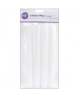 "Wilton 9"" Hidden Pillars 4pk"