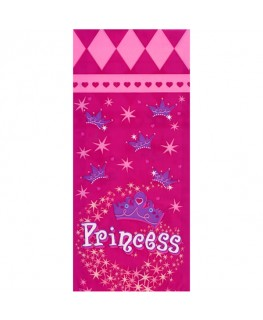 "Wilton Princess Party Bags with Ties 4"" x 9"" 20pk"