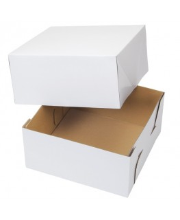 "Wilton Corrugated Cake Box 10"" x 10"" x 5"" 2pk"