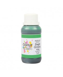 Colour Splash Edible Airbrush Colour - Sage Green 45g