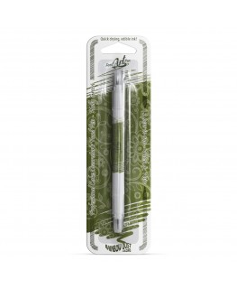 Rainbow Dust Double Sided Edible Food Pen - Holly Ivy Green