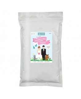 Squires Kitchen Modelling Paste Snow White Value Pack 1kg