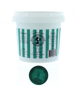 Claire Bowman Pearlised Emerald Green Pre-Mixed Cake Lace 200g