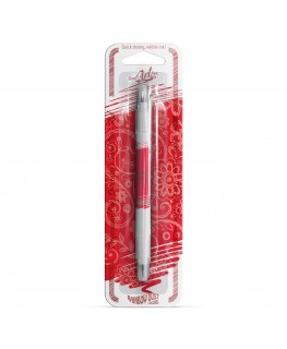 Rainbow Dust Double Sided Edible Food Pen - Red