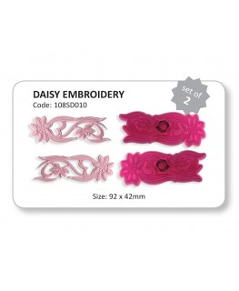 JEM Daisy Embroidery Cutter Set 2pc