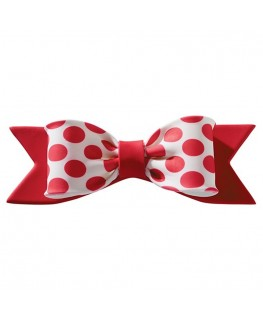 Culpitt Gumpaste Bow Red Dot 150 x 50mm