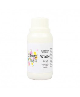 Colour Splash Edible Airbrush Colour - White 45g