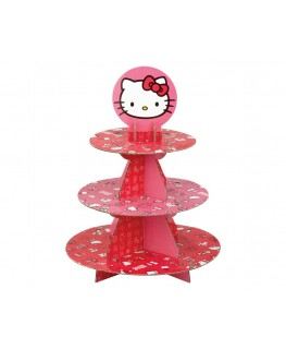 Wilton 3 Tier Hello Kitty Cupcake Stand