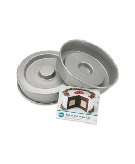 Wilton Fanci-Fill Cake Pan