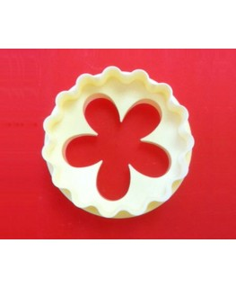 FMM Double Sided Cupcake Cutter Blossom & Scallop