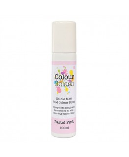 Colour Splash Edible Food Colour Spray Pastel Pink 100ml