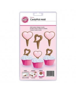 Wilton Heart Candy Pick Mould