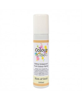 Colour Splash Edible Food Colour Spray Hint of Gold 100ml