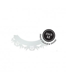 PME Dove Cupcake Wrappers White 12pk
