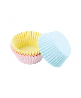 Wilton Assorted Pastel Colors Standard Cupcake Cases 75pk