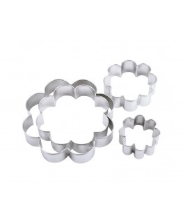 Wilton Blossom Nesting Metal Cutter Set 4pc