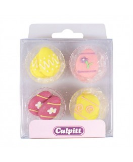 Culpitt Easter Egg Sugar Pipings 12pk