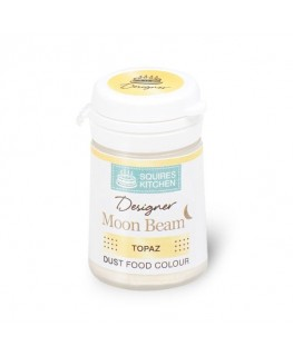 Squires Kitchen Designer Moon Beam Lustre Dust Topaz 6g