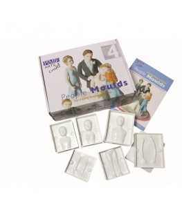 PME People Mould Set 4pc