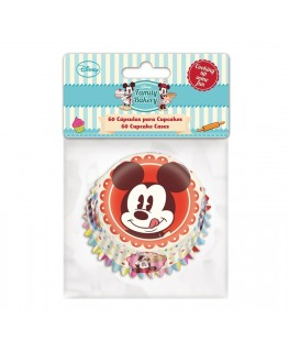 Stor Mickey Mouse Baking Cases 60pk