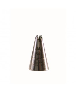 PME Leaf Spiked Petal Supatube Stainless Steel Piping Nozzle
