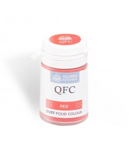Squires Kitchen Quality Food Colour (QFC) Dust Red 4g