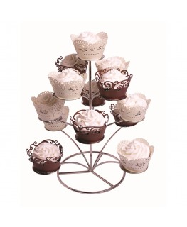 PME Chrome Cupcake Stand (Holds 13)