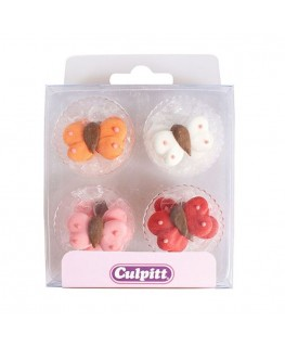 Culpitt Butterfly Sugar Pipings 12pk
