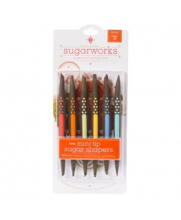 Innovative Sugarworks Firm Tip Mini Sugar Shapers Set 6pc