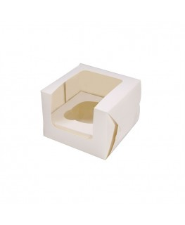 Culpitt White Single Cupcake/Muffin Box