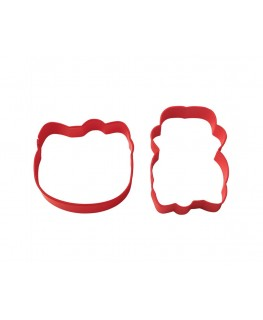 Wilton Hello Kitty Cookie Cutter Set 2pc