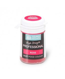 Squires Kitchen Professional Food Colour Dust Rose 4g