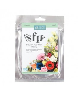 Squires Kitchen Sugar Florist Paste (SFP) Eucalyptus 200g