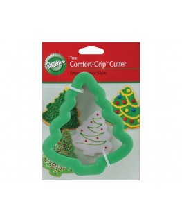 Wilton Christmas Tree Comfort Grip Cutter 4""