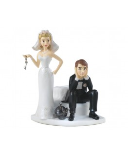 Wilton Ball & Chain Cake Topper