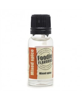 Foodie Flavours Mixed Spice Natural Flavouring 15ml