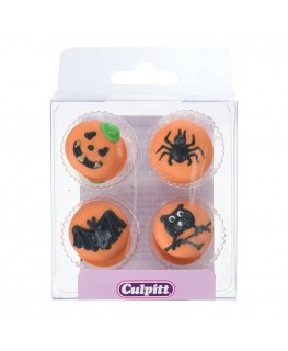 Culpitt Halloween Button Sugar Pipings 12pk