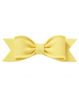 Culpitt Gumpaste Bow Yellow 150 x 50mm