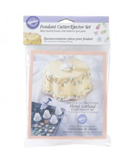 Wilton Floral Garland Ejector Set 6pc