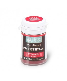 Squires Kitchen Professional Food Colour Dust Cyclamen Ruby 4g