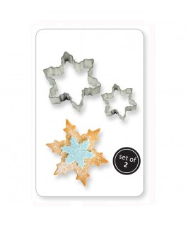 PME Cookie & Cake Snowflake Cutter 2pc