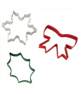 Wilton Delightfully Decadent Cookie Cutter Set 3pc