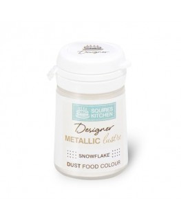 Squires Kitchen Designer Metallic Lustre Dust Snowflake 5g
