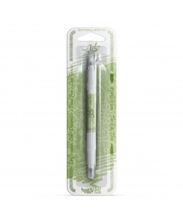 Rainbow Dust Double Sided Edible Food Pen - Leaf Green