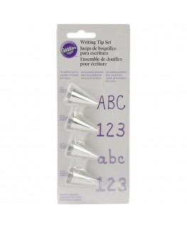 Wilton Writing Tip Set 4pc