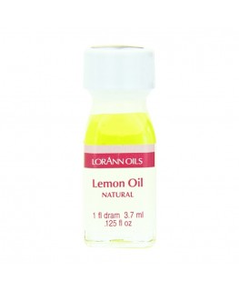 LorAnn Super Strength Natural Lemon Oil, Flavor - 1 Dram (3.7ml)